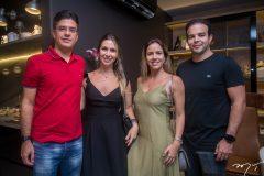 André Bezerra de Menezes, Paula Menezes, Isabela Rolim e Daulzio Barros Leal