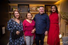 Carla Moreira, Maria Monte, Andre Monte e Glauciara Canali