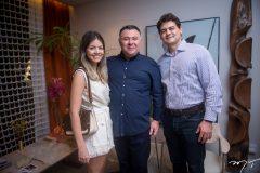 Ingrid Macedo, André Monte e Darcio Janio