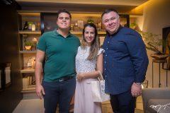 Patríc Baioco, Renata Pacheco e André Monte
