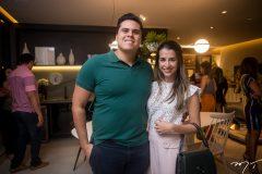 Patríc Baioco e Renata Pacheco
