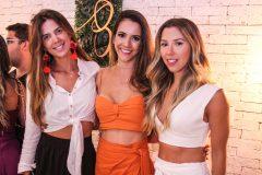 Camila Militão, Nadia Elis e Raissa Rodrigues