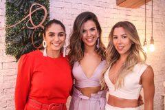 Camilla Braga, Rayssa Caldas e Raissa Rodrigues