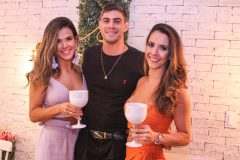 Rayssa Caldas, Lucas Farias e Nadia Elis