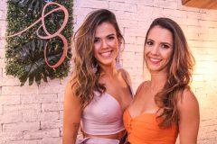 Rayssa Caldas e Nadia Elis