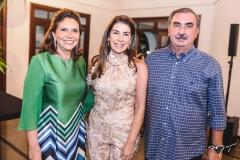 Ana D'Áurea Chaves, Denise e César Montenegro