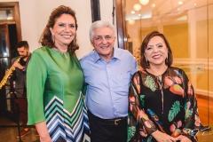Ana D'Áurea Chaves, Deusmar Queirós e Rita Cruz