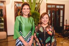 Ana D'Áurea Chaves e Rita Cruz