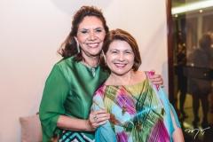 Ana D'Áurea Chaves e Valdizia Costa Sousa