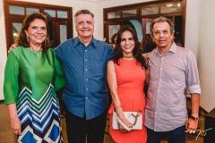 Ana D'Áurea e Lauro Chaves, Sandra e Eduardo Rolim