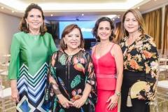 Ana D'Áurea Chaves, Rita Cruz, Natália Abreu e Júlia Oliveira