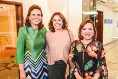 Ana D'Áurea Chaves, Roberta Cavalcante e Rita Cruz