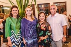 Ana D'Áurea Chaves, Sandra Fujita, Rita Cruz e Rogério Torres