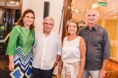 Ana D'Áurea Chaves, Vidal Bizarria, Ana e Roberto Pinto
