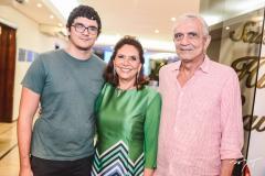 Arthur Ayres, Ana D'Áurea Chaves e Atilano Ayres