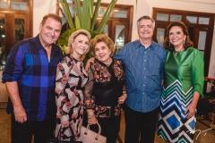 Jório e Graça da Escóssia, Consuelo Dias Branco, Lauro Chaves e Ana D'Áurea Chaves