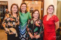 Júlia Oliveira, Ana D'Áurea Chaves, Rita Cruz e Cíntia Guimarães