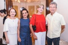 Lenita Negrão, Simone Rizzato, Alfonsina e Rodrigo Militão