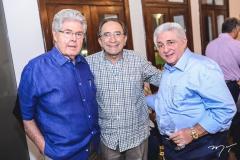 Lucio Carneiro, Paulo Cruz e Deusmar Queirós