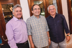 Maximiano Chaves, Paulo Cruz e José Carlos Timbó