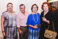 Nadja Ponte, Cláudio e Gina Targino e Ana Virgínia Carneiro