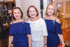 Olga Holanda, Lenita Negrão e Ana Tereza Ximenes