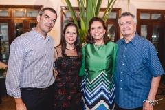 Raphael Chaves, Ivolina Macedo, Ana D'Áurea e Lauro Chaves
