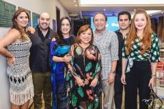 Raquel e Jorge Furtado, Paula Bezerra, Rita e Paulo Cruz, Rodrigo Furtado e Larissa Fujita