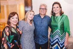 Rita Cruz, Flávia e Rafael Pordeus e Ana D'Áurea Chaves