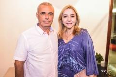 Rogério Torres e Sandra Fujita