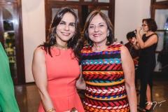 Sandra Fujita e Ana Studart
