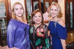 Sandra Fujita, Rita Cruz e Ana Tereza Ximenes