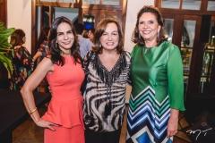 Sandra Rolim, Edelene Benevides e Ana D'Áurea Chaves