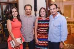 Sandra e Eduardo Rolim, Ana e Beto Studart