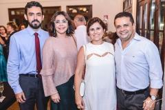 Sérgio Rebouças, Roberta Cavalcante, Micheline e Germano Albuquerque