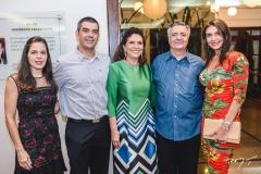 Ivolina Macedo, Raphael Chaves, Ana D'Áurea e Lauro Chaves e Rebeca Albuquerque