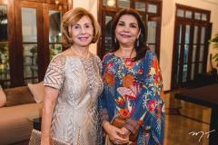 Zelma Câmara e Celina Castro Alves