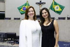 Aline Félix Barroso e Jamila Araújo