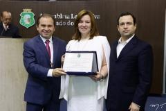 Carlos Matos, Aline Félix Barroso e Igor Queiroz Barroso