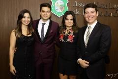 Jamila Araújo, Pablo Guterres, Rebeca Bessa e Helrson Dias