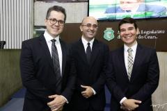 Lívio Parente, Lincoln Nogueira e Helrson Dias