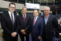 Lívio Parente, Severino Ramalho Neto, Carlos Matos e Osvaldo Vieira
