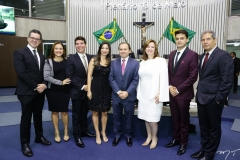 Lívio Parente, Vivian Duarte, Helrson Dias, Jamila Araújo, Carlos Matos, Severino Ramalho Neto, Aline Félix Barroso e Pablo Guterres