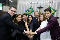 Lívio Parente, Vivian Duarte, Helrson Dias, Jamila Araújo, Severino Ramalho Neto, Aline Félix Barroso e Pablo Guterres