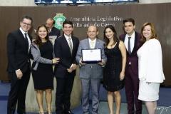 Lívio Parente, Vivian Duarte, Helrson Dias, Sérgio Aguiar, Jamila Araújo, Pablo Guterres e Aline Félix Barroso