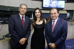 Severino Ramalho Neto, Jamila Araújo e Carlos Matos