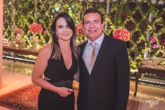 Ana Lúcia Mendonça e Carlos Leanes