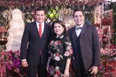 Andrade Mendonça, Dalva Arrais e Francisco Campelo