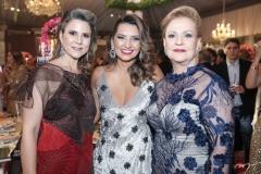 Camille Cidrão, Márcia Travessoni e Letícia Pequeno