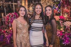 Carolina Aguiar, Beatriz Marinho e Júlia Lima